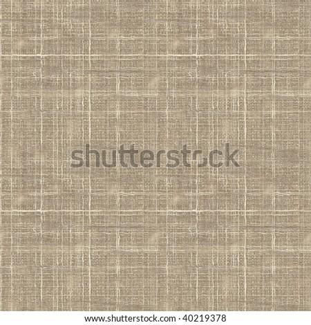 seamless sack linen texture - stock photo