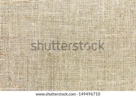 Seamless Sackcloth background - stock photo
