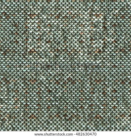 Seamless Sequins Texture Background