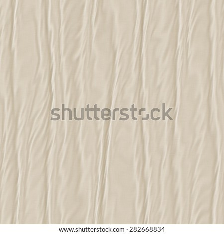 Seamless smooth wavy folded cloth fabric texture