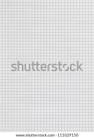 Seamless squared paper - stock photo