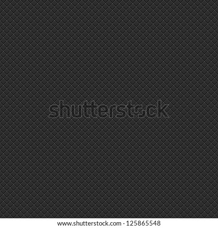 Seamless subtle pixel patterns with crisscross wire mesh textured on black background. Popular backdrop for web internet project site. Template size square format. Bitmap copy my vector illustration - stock photo