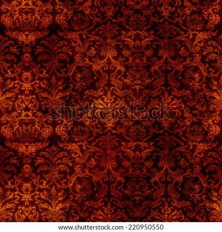 Seamless Tapestry Pattern