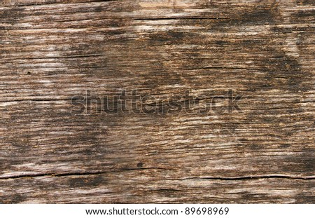 Seamless texture. A plank of old wood. - stock photo