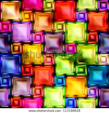 Seamless Texture abstract geometric shapes - stock photo