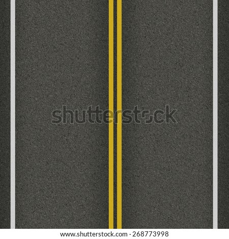 seamless texture highway - stock photo