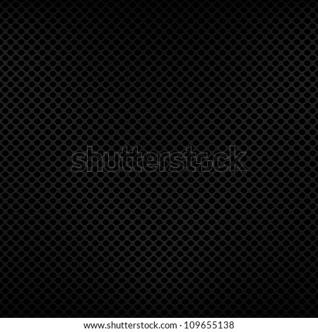 Seamless texture metal surface dotted octagon perforated background, bitmap copy. - stock photo