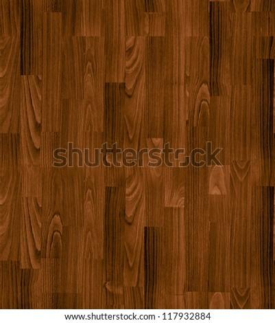 seamless texture of brown parquet - stock photo