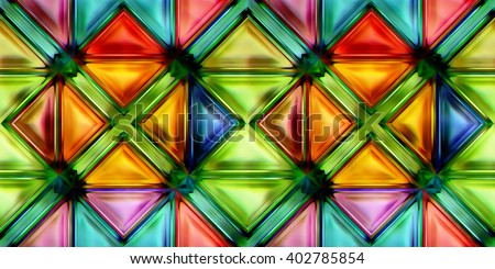 seamless texture of colorful bright abstraction pattern 3D illustration