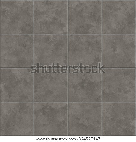 Seamless Texture Of Gray Tiles Pattern Background