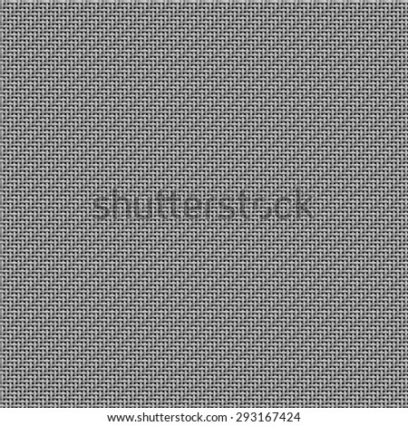 Seamless texture of light grey fabric woven in 2/2 twill pattern on black. Designed for use as texture in 3d modeling, 25x25 tiles.