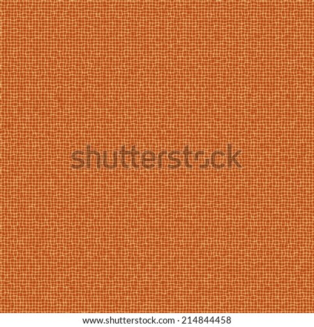 Seamless texture of natural organic terracotta color fabric