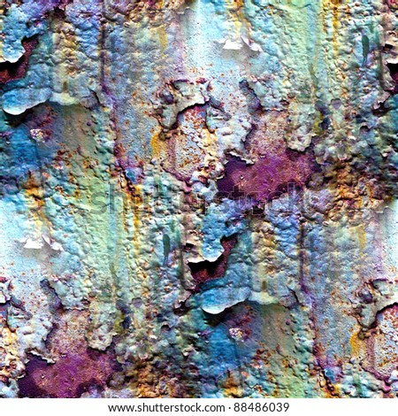 seamless texture of rusty colored rough - stock photo
