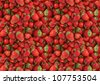 Seamless texture of strawberries - stock photo