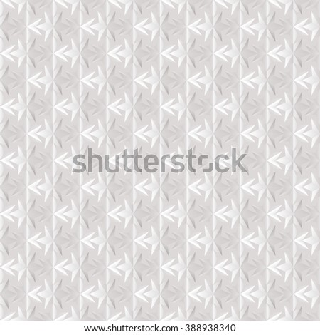 Seamless texture of white. Effect. Six-pointed star.   - stock photo