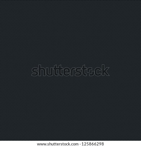 Seamless texture subtle pattern carbon fiber surface dark black background. Contemporary swatch simple modern style. Template size square format. Bitmap copy my vector illustration - stock photo