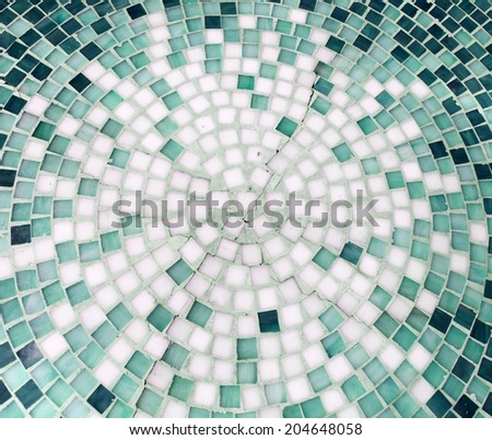 Seamless texture with squares, mosaic endless pattern - stock photo
