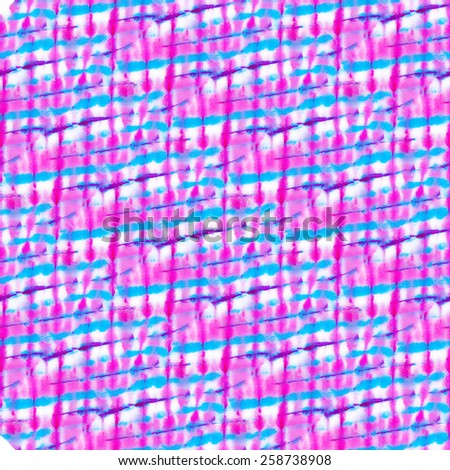 seamless tie dye pattern. small checks and stripes. neon colors.  - stock photo