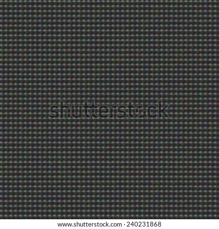 Seamless tile able square colorful background consisting of small squares and lines. Black.  - stock photo