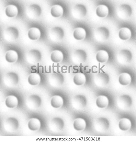 Seamless tileable decorative background white pattern.