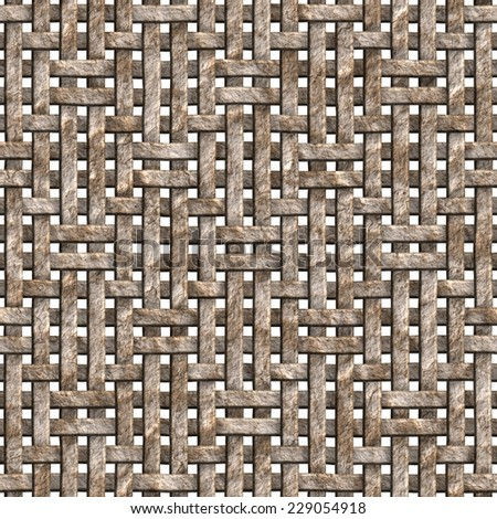 Seamless tileable decorative 3d abstract background pattern. - stock photo
