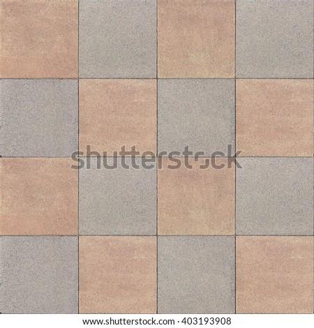 seamless, tileable pavement texture - stock photo