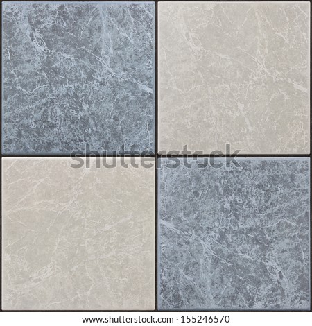 seamless tileable tiles - stock photo
