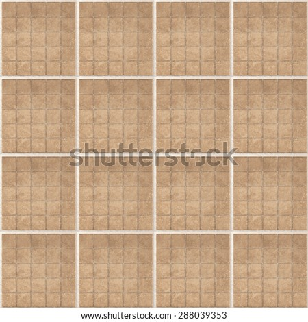 Seamless tiles repeating texture background. Matt ceramic tiles. Repeated squares