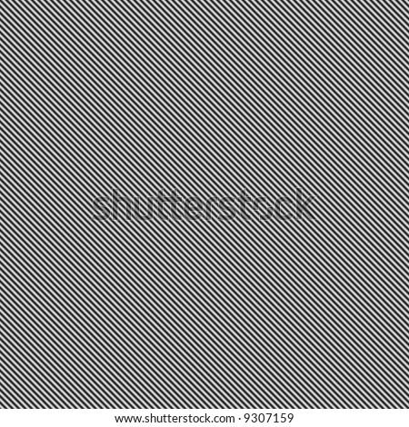 seamless tillable dark silver metallic background with diagonal stripes - stock photo