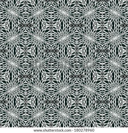 Seamless, unique, abstract pattern. Made with unique drawings and sketches