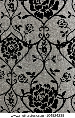 Seamless vintage background for textile design. Wallpaper pattern - stock photo