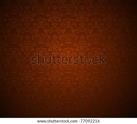 Seamless Wallpaper, bitmap copy - stock photo