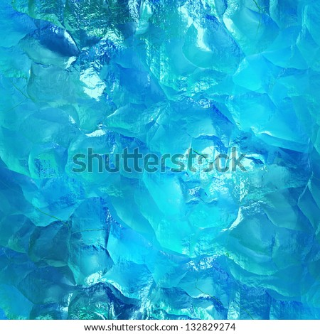 Seamless water texture (computer graphic, big collection) - stock photo