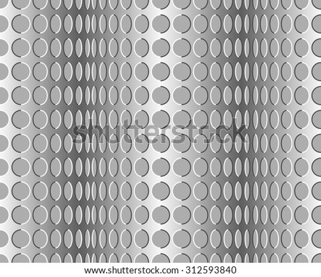 Seamless wavy pattern. Optical illusion with motion background - stock photo