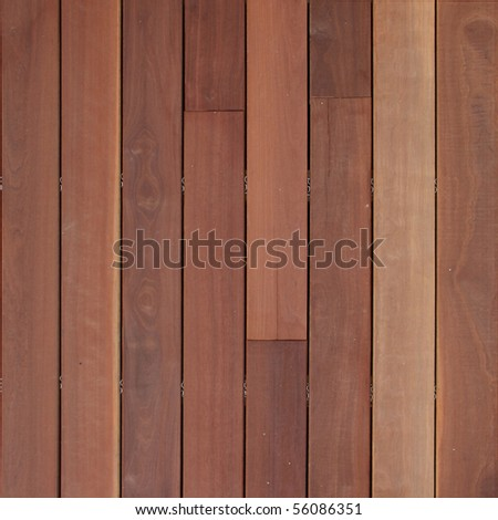 seamless wood panels - stock photo