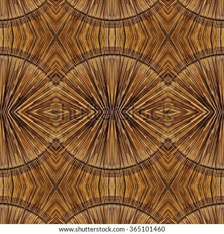 Seamless wood pattern - stock photo