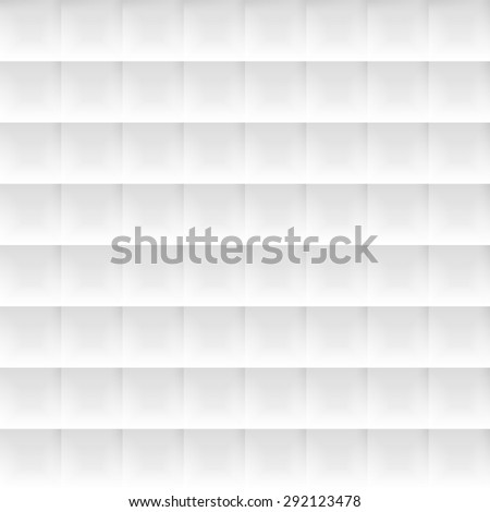 Seamlessly tiling background texture made of simple geometric squares with 3d shadow effects. - stock photo