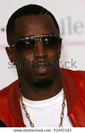 Sean Combs  at the 2011 T-Mobile NBA All-Star Game, Staples Center, Los Angeles, CA 02-20-11