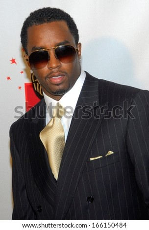 Sean P Diddy Combs at Time 100 MOST INFLUENTIAL PEOPLE ISSUE Launch Dinner Party, Jazz at Lincoln Center at the Time Warner Center, New York, May 08, 2006