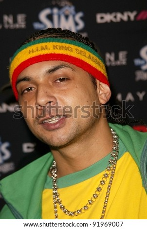 Sean Paul at the Teen People 2003 Artist Of The Year and AMA After-Party, Avalon, Hollywood, CA 11-16-03