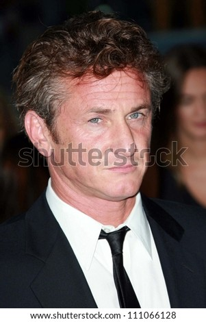 "Sean Penn at the premiere of ""Into the Wild"". Directors Guild Of America, Los Angeles, CA. 09-18-07"
