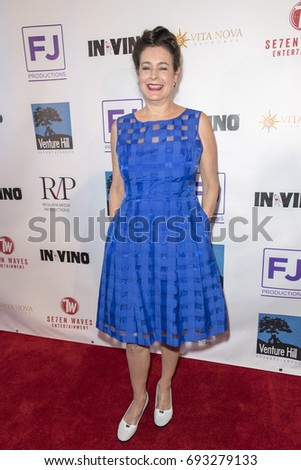 Sean Young attends  In Vino - Premiere at The Writers Guild Theater on July 27th 2017 in Beverly Hills, California