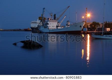 Seaport - stock photo