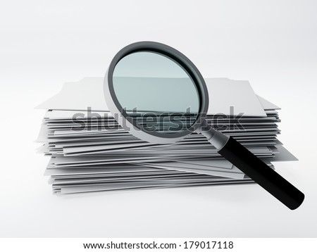 search archive - stock photo