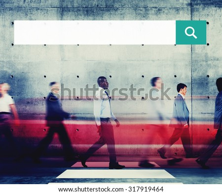 Search box Web Online Browsing Searching Concept - stock photo