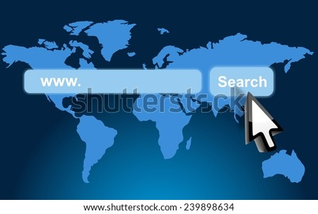 search engine - stock photo
