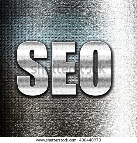 Search engine optimalization - stock photo