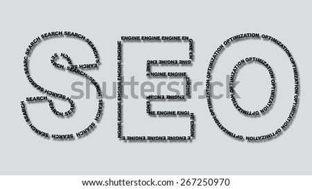 Search Engine Optimization  - stock photo