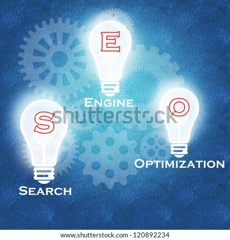 Search Engine Optimization concept | Business success - stock photo