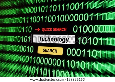 Search for technology